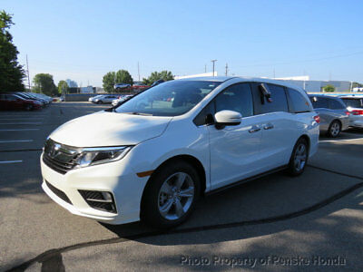 Honda Odyssey EX Automatic EX Automatic New 4 dr Van Automatic Gasoline 3.5L V6 Cyl White Diamond Pearl