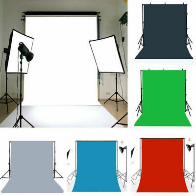 UK Pure Color Photography Background Photo Props Backdrop 3x5/5x7ft 6 Choices