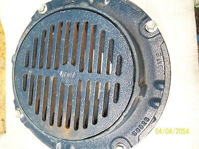 "Zurn Z550 WITH P550 8"" CAST IRON DRAIN GRATE COVER 50570-006 56687-20-40"