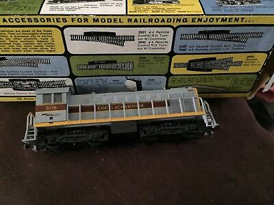 AHM Erie Lackawanna 509 ho scale locomotive