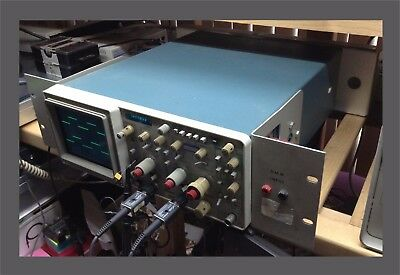 Tektronix 2236 100 MHz 2-Channel Oscilloscope w/Counter-Timer-Multimeter(Tested)
