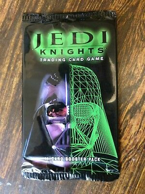 5x Star Wars Jedi Knights Booster Packs CCG TCG - Decipher - FREE SHIPPING