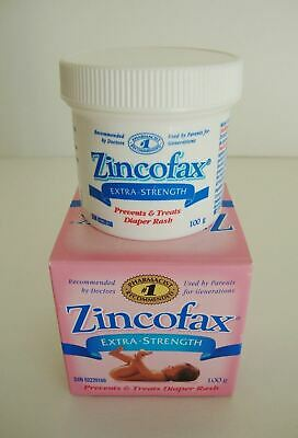 ZINCOFAX 'EXTRA STRENGTH' Ointment for Treatment of SEVERE DIAPER RASH 100 g