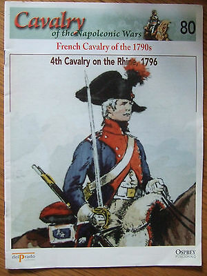 DEL PRADO- CAVALRY-NAPOLEONIC WARS -No 80 FRENCH CAVALRY OF THE 1790s