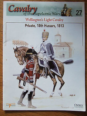 DEL PRADO- CAVALRY-NAPOLEONIC WARS -No 27 WELLINGTONS LIGHT CAVALRY