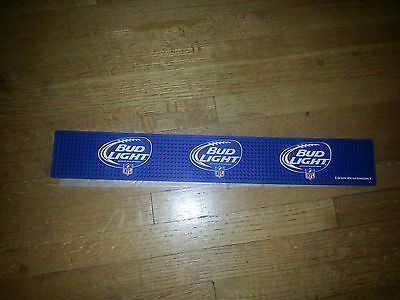 bud light nfl bar mat(new)or nfl taphandle(used)- free shipping