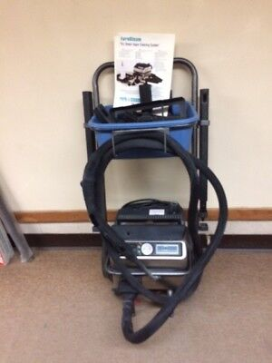 Eurosteam ES2100 Commercial Vapor Steam System with cart - Used once.