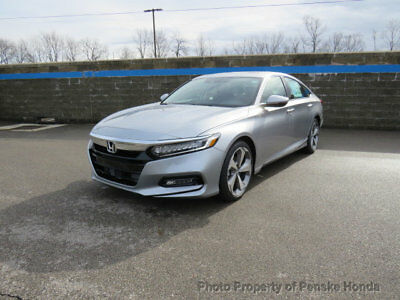 Honda Accord Sedan Touring 2.0T Automatic Touring 2.0T Automatic New 4 dr Sedan Automatic Gasoline 2.0L 4 Cyl Lunar Silver