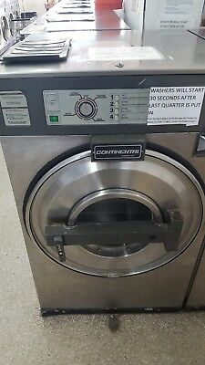 coin operated washer, continental coin washer, used coin washer