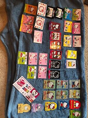 Sanrio Hello Kitty trading cards 40th Anniversary used 38 cards