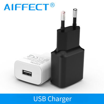 5V 1A/2A 5W 10W Mobile Phone Charger USB Travel Wall Charger Adapter For EU Plug