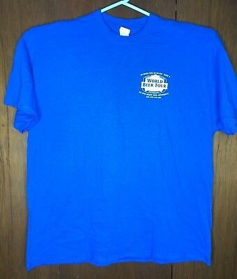 40 Beers for 40 Years Gildan Heavy Cotton T-Shirt Old Chicago Okoberfest 2XL