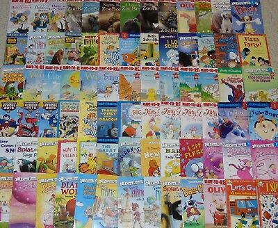RANDOM LOT of 15 Children's Early Readers Level 1 & 2 Beginning EXC