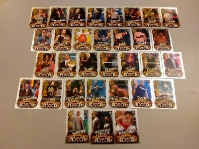 Wwe Slam Attax LIVE 2018 Complete SET of all 32 Raw 25th Anniversary FOILS