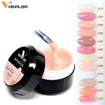 Nail Art UV Builder Gel Venalisa 12 Color Camouflage 15ml Ploy Extend Hard Jelly