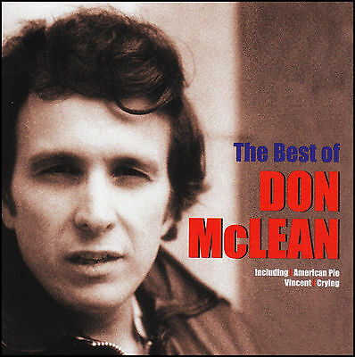 DON MCLEAN - THE BEST OF CD ~ AMERICAN PIE~VINCENT ++++ 70's GREATEST HITS *NEW*