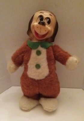 "10"" Vintage 1962 Quick Draw Mc Graw Plush Toy, Hanna Barbera"