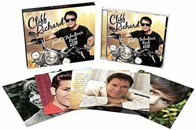 Just Fabulous Rock And Roll - Cliff Richard (Deluxe Album) CD PLUS 5 POSTCARDS