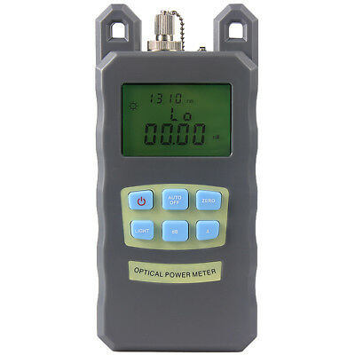 FTTH Fiber Optic Optical Power Meter Cable Tester -70~+10 dBm FC/SC Connector