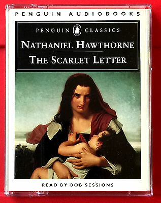 nathaniel hawthorne the scarlet letter 2 tape audio book bob sessions