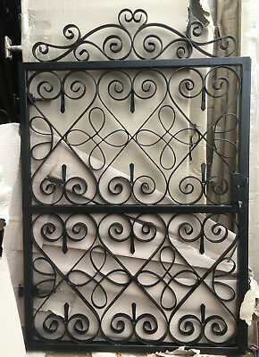 Pedestrian gate wrought iron Made To Order