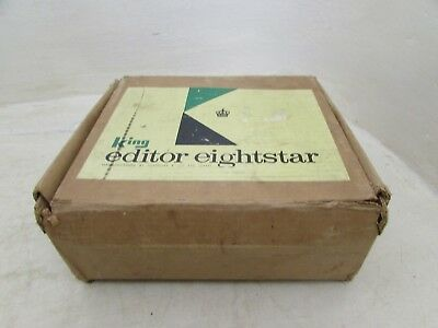 Vintage/1960's King Eightstar Editor - 8mm Cine Editor With Original Box