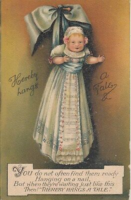 Vintage Postcard, Baby unused, Early 1900?s, (a), Postage Combined