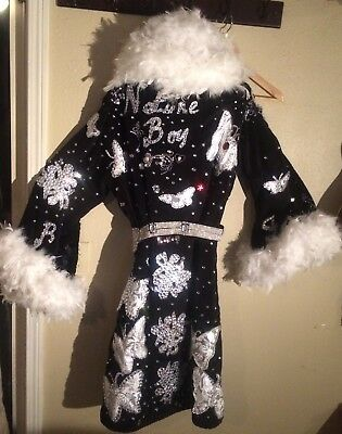 The Nature Boy Ric Flair hand-made tribute robe. WWE/WCW/WWF