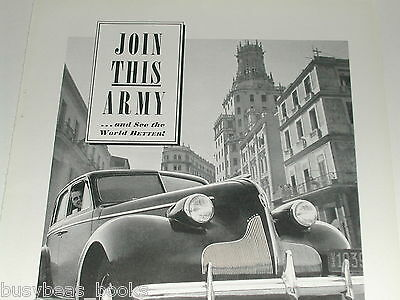 1939 Buick ad, Buick Sedan, B&W photo