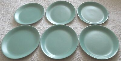 """POOLE OVAL PLATE~Seagull/Ice Green~11"""" x 9"""" excellent condition"""