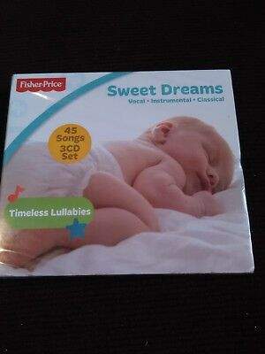 Fisher Price SWEET DREAMS Vocal Instrumental Classic 45 TIMELESS LULLABIES Songs