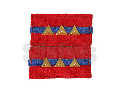 WWII Chinese army Infantry NCO collar rank