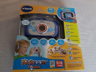 Vtech Kidizoom Touch.blau. Neu & OVP. 9 in 1.Neues Modell.kein Duo, kein Connect