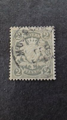 STAMPS - Bavaria - 1888 - 1890 Coat of Arms Used