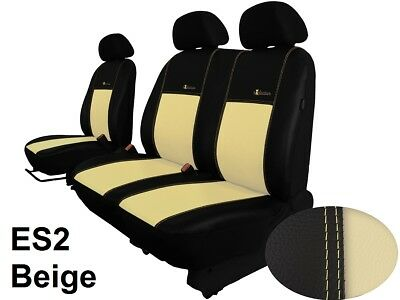MERCEDES VITO 447 2014 ONWARDS ECO LEATHER TAILORED SEAT COVERS MADE TO MEASURE