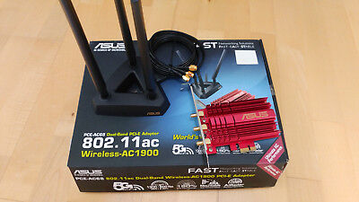ASUS PCE-AC68 Dual-Band Wireless AC1900 PCI-E Adapter