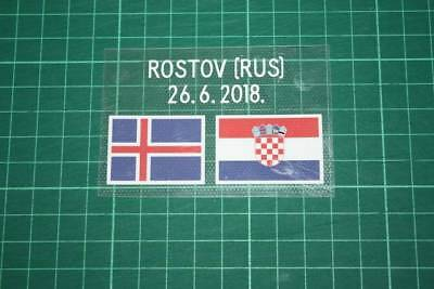 CROATIA World Cup 2018 Away Shirt Match Details ICELAND Vs CROATIA