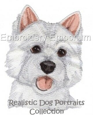Realistic Dog Portraits Collection - Machine Embroidery Designs On Cd
