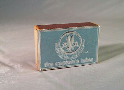 """Vintage pre-1968 American Airlines Matches """"Captain's Table"""" Mint / New"""