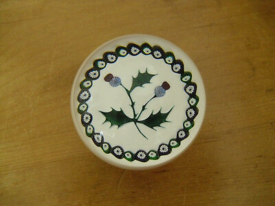 "Ltd Ed Caithness William Manson ""Thistle"" Paperweight (267/750)"
