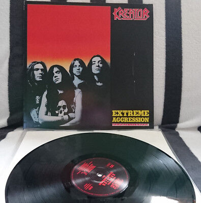 kreator extreme aggression LP first press overkill DRI slayer destruction