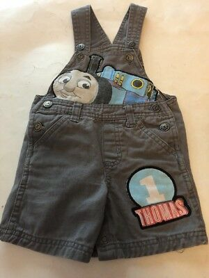 Thomas The Train  And Friends Overalls 12 Months Size Used  Free ship