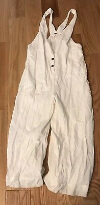 Free People White Jumper Size Small