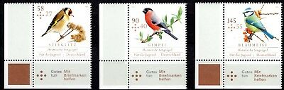 Germany - 2013 - Song Birds  - Full Set Of B. Corner Issues - Mint Nh**