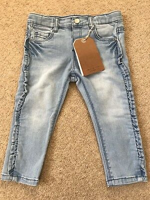 Zara Baby Girl's Jeans Brand New With Tags 12-18 Months