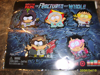 South Park Fractured but Whole Collectible Enamel Pin Set Target Exclusive
