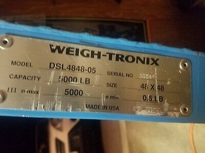 """Weigh-Tronix Scale 