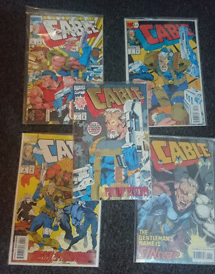 Marvel CABLE comic collection 1990's 1-20, 1-13, 2 part x 2 Great condition