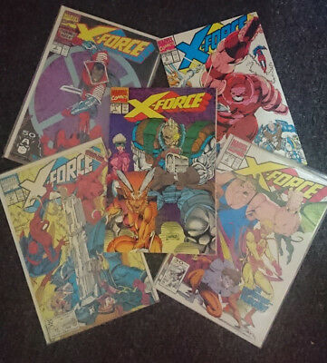 Marvel X-FORCE comic collection 1990's Great condition Issues 1-42