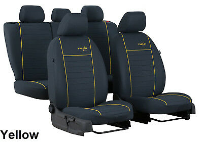 VW GOLF Mk7 5 DOOR 2012 ONWARDS STRONG FABRIC SEAT COVERS MADE TO MEASURE
